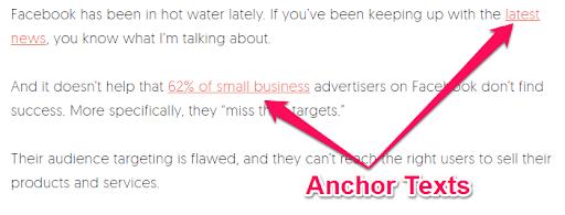 Đa dạng anchor text chính là một chiến lược xây dựng backlink hiệu quả