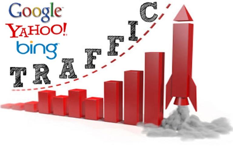 Có rất nhiều kênh để tăng traffic cho website