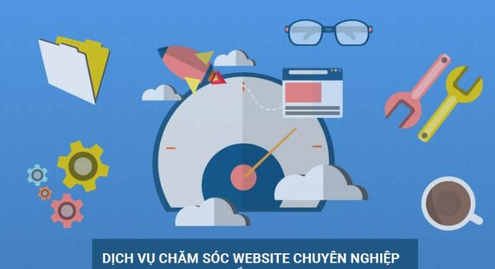 Đơn vị chăm sóc website giá rẻ, chuyên nghiệp