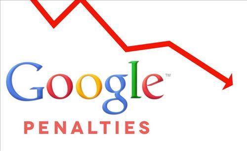 Website có thể chịu hình phạt của Google