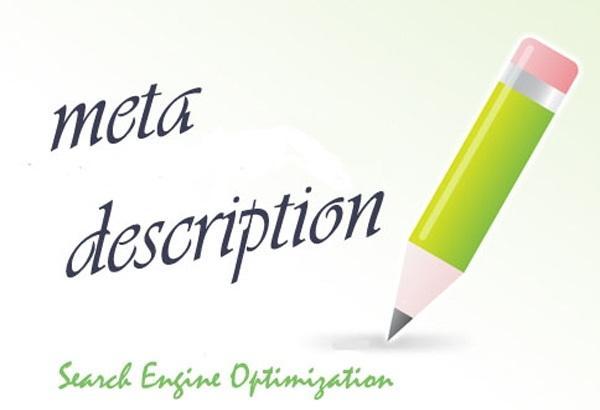 Meta description quảng cáo ngắn cho trang web