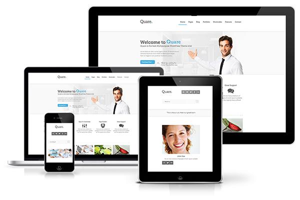 Website tạo ra tương thích với nhiều thiết bị khác nhau