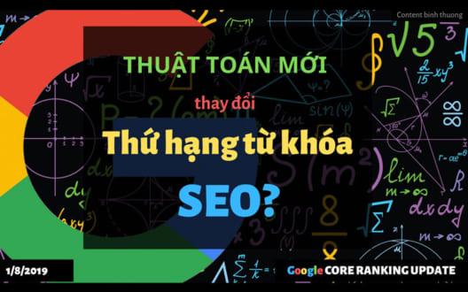 Thuật toán Google và những ảnh hưởng trực tiếp đến kế quả tìm kiếm