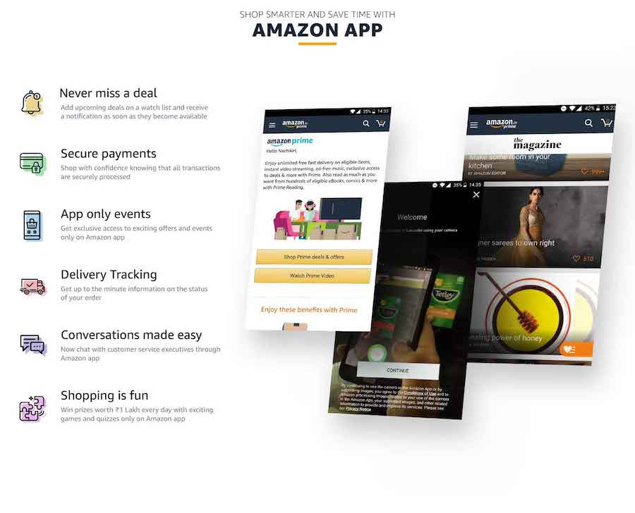 amazon mobile getlink apffiliate