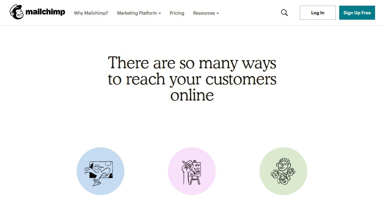 Mailchimp - Marketing online auto tool