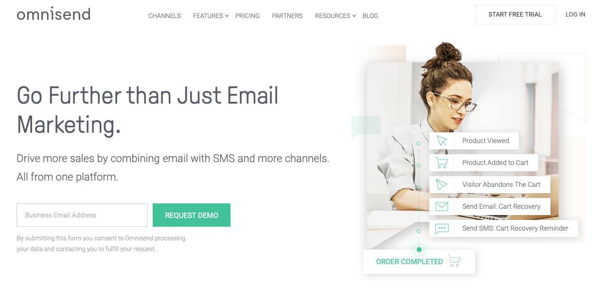 Omnisend - Tool Marketing Online auto