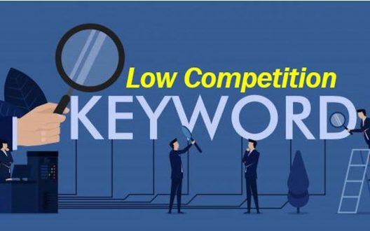 Cách tìm từ khóa cạnh tranh thấp cho  SEO